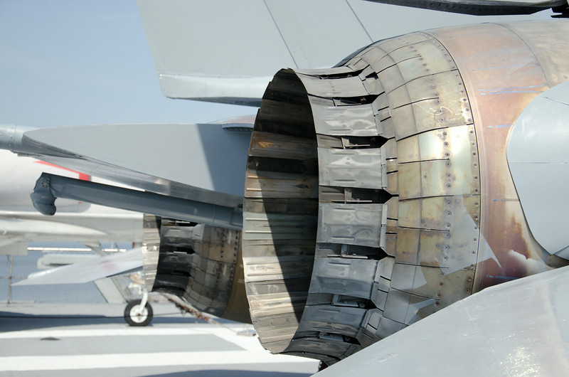 F-14A Tomcat Engine Exhaust