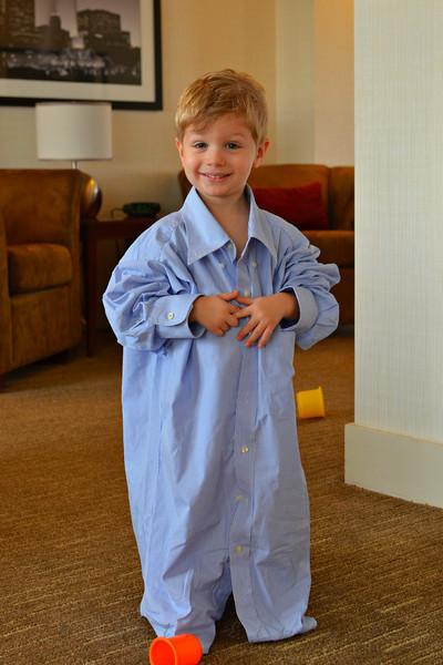 "Wearing a ""Big Boy"" Shirt... <br /> <br /> Daily Photos  -  November 30, 2011"