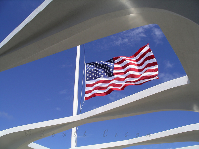 In Memoriam - On this 70th Anniversary of Pearl Harbor<br /> <br /> USS Arizona Memorial<br /> <br /> Daily Photos  -  May 31, 2011