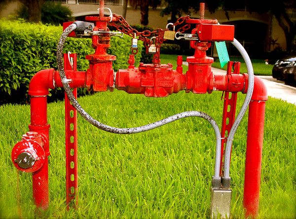 I pass by this fire main gate valve every single day on the way in and out of my place and I rarely, if ever, notice it.