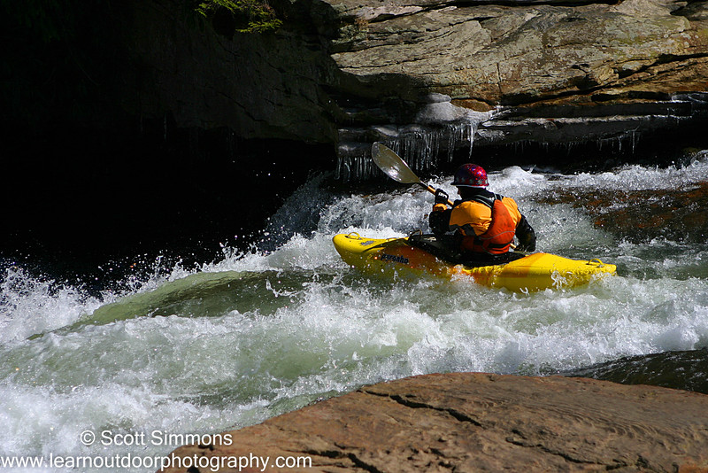 Kayaker on the Youghiogheny