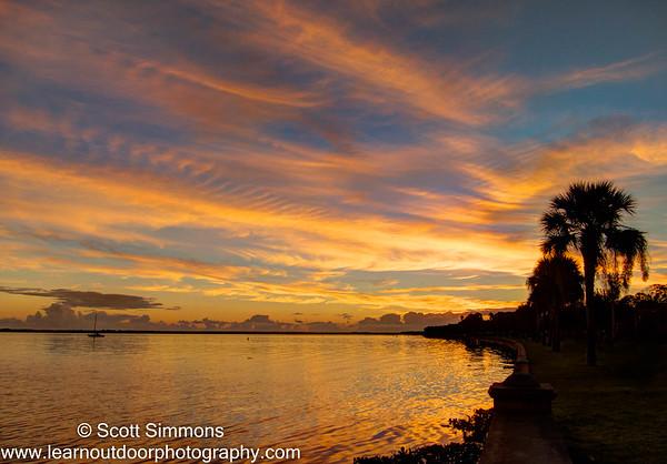 Sunrise Over Lake Monroe