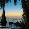 Sunset over Lake Jesup