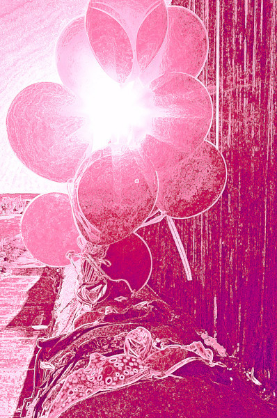03.25.12<br /> <br /> Pink Balloon Abstract
