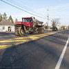 2015-12-09: You know you have a rural commute when... Three of these monsters passed going the opposite direction today. Considering how wide the tractors are, I am glad they weren't coming up behind me!