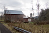 2015-12-07: Scenic barn complex on the way home from campus.