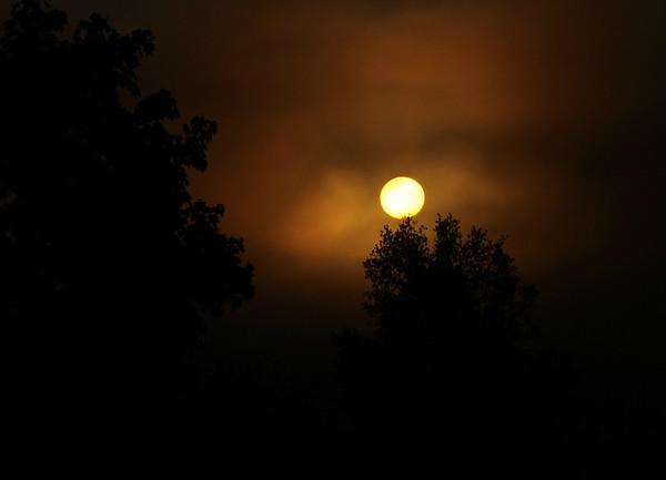 An early morning sunrise.
