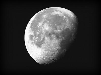 A moonset.....
