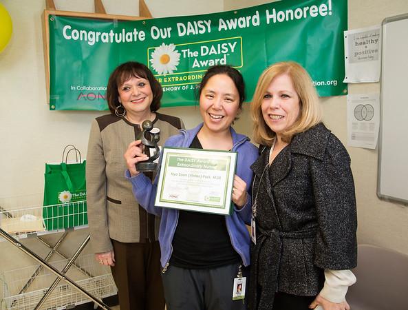 Holy Name Medical Center Daisy Award Winner Vivian Park