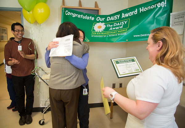 Holy Name Medical Center Daisy Award Winner Vivian Park