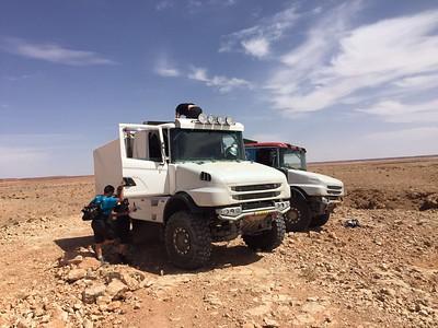 Marokko test Dakarspeed & Toptrucks