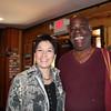 Scott's wife, Pam, with Kamil.