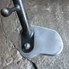 Side stand fatfoot in natural aluminum finish. $40.00.