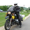 Peter Ferguson's R1100GS. My first oilhead skidplate is on his bike.