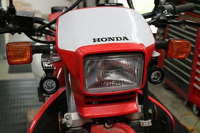 Honda XR650L LED aux light kit