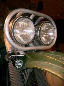 My own personal KLR with the Piaa aux lights installed. They tuck in nice beside the front fender to keep the lights out of harms way. Price: $140.00