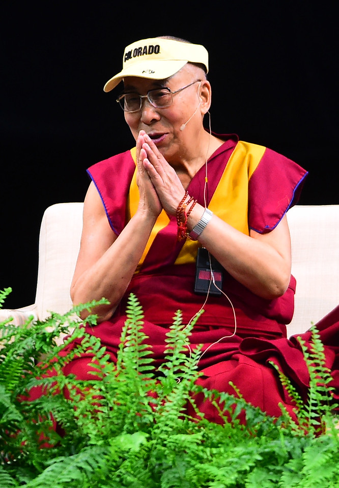 Dalai Lama at the University of Colorado