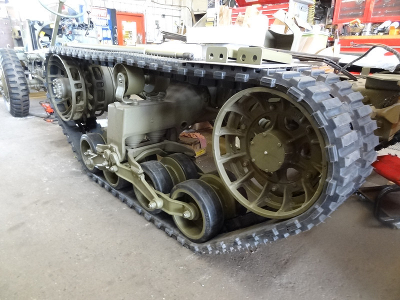 UPDATE.....11 new pictures of the half-track project