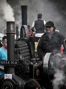 Hunton Steam Gathering, Leyburn, Yorkshire. 2016.