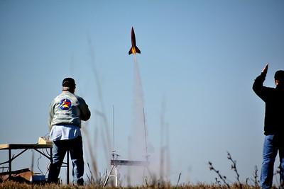DARS Rocket Launch Gunter 1-28-17