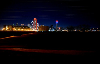 Dallas Dressed In Red