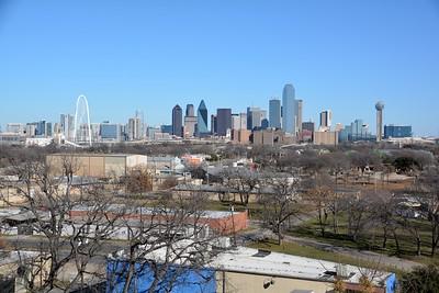 Dallas Skyline January 18, 2015