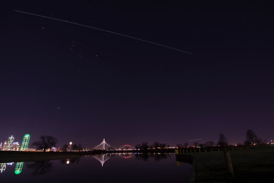 ISS Over Dallas 1-23-18