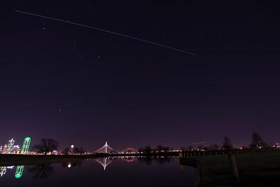 ISS Over Dallas 1-23-18