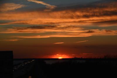 January Sunset