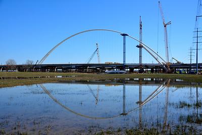 Margaret McDermott Bridge Update Feb. 26, 2016