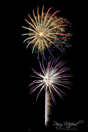 Rowlett Fireworks on Main 2018