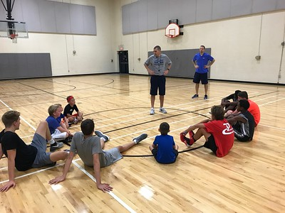 Dallas Basketball Camp 2017