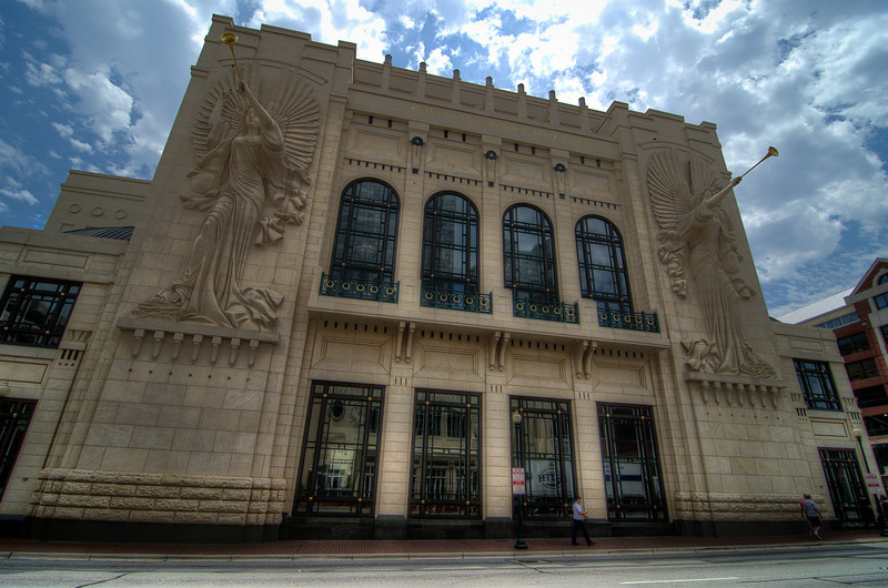 The Bass Performance Hall, Fort Worth, Texas, May 2012.