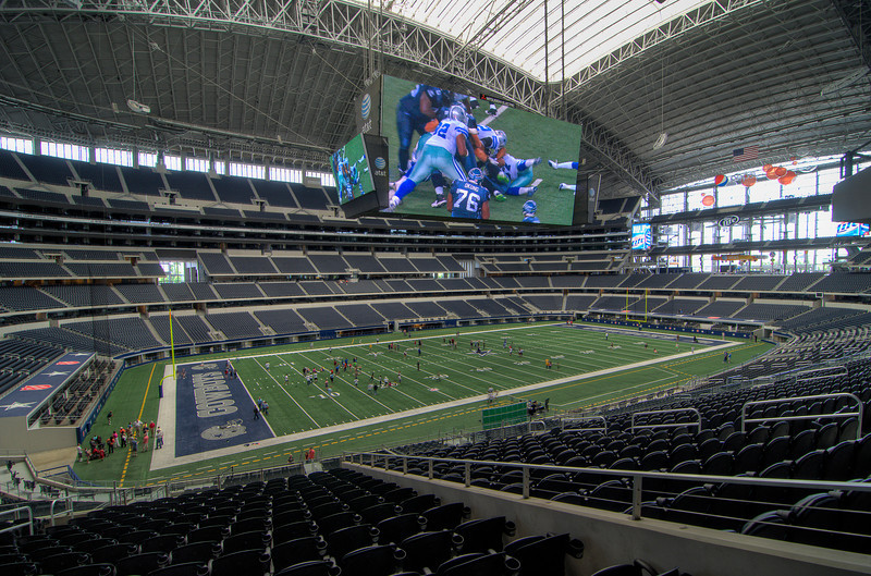 At Dallas Cowboys Stadium. Arlington, Texas, 4 May, 2012.