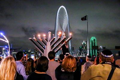2015 Intown Chabad 9th Annual Menorah Lighting