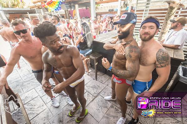 SHINE   The Dallas Pride Pool Party 2018