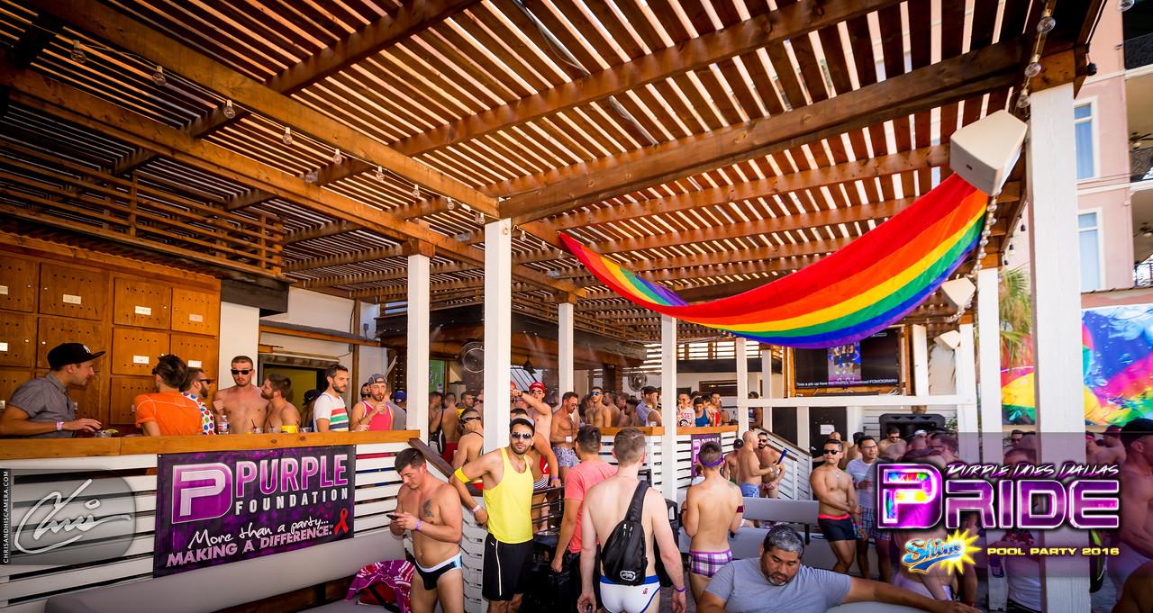 SHINE | The Dallas Pride Pool Party 2016