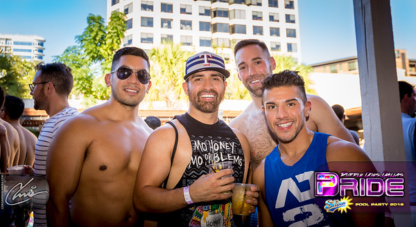 SHINE | The Dallas Pride Pool Party 2016