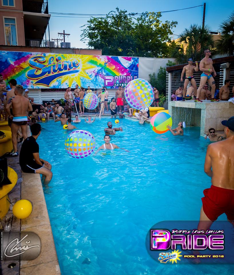 SHINE   The Dallas Pride Pool Party 2016