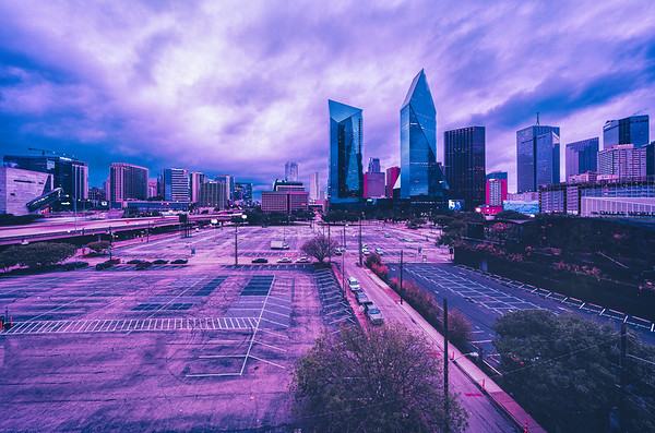 Dusk in the City of Dallas