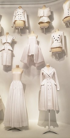 Muslin samples for The House of Dior
