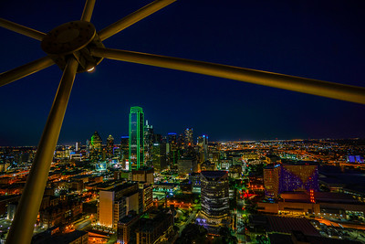 From the Reunion Tower Observation deck 2