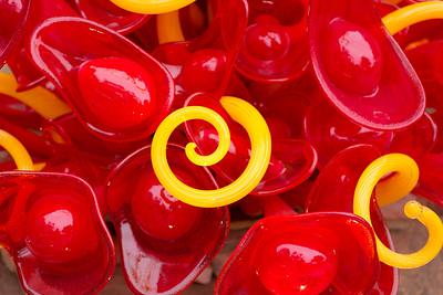 Red Lip & Yellow Anenome