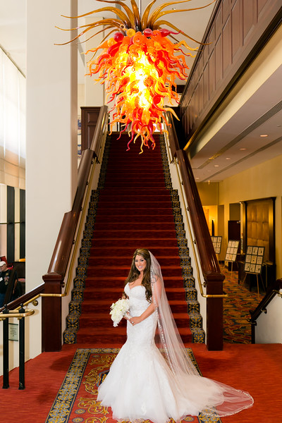 """Megan's bridal portraits in downtown Fort Worth, TX at the Worthington Hotel. Fort Worth wedding photographer. Bridal portrait photography. View more of my work at <a href=""""http://www.monica-salazar.com"""">http://www.monica-salazar.com</a> <br /> monicasalazarphoto@gmail.com <br /> 972-746-3557"""