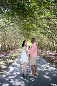 Natalie and Kenny's engagement photo session at the Dallas Arboretum Botanical Gardens by Dallas wedding photographer Monica Salazar. www.monica-salazar.com monicasalazarphoto@gmail.com 972-746-3557