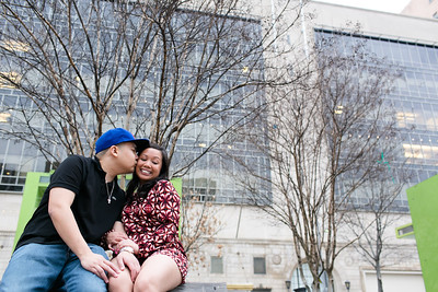 Richard and Vanessa's engagement session portraits in Dallas, TX. Dallas engagement session photos in downtown Dallas. To view more of my work visit my website - http://www.monica-salazar.com  To contact us you can email us at monicasalazarphoto@gmail.com or call 972.746.3557.