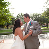 Plano wedding photography with outdoor wedding Haggard Park in Plano, TX.