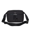 Dalston;Palermo;Convertible X- Body;129-301-BLK;Front with Strap 2