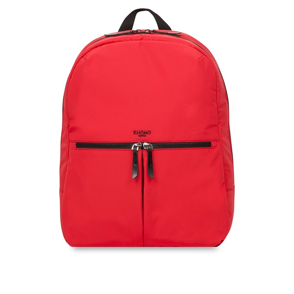 "Dalston Berlin Backpack 15"" 129-401-RED Front"