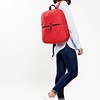 Dalston; Berlin; Backpack; 15''; 129-401-RED; On the model